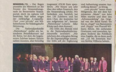 """Pressemeldung vom """"Anzeiger für das Harlingerland"""""""